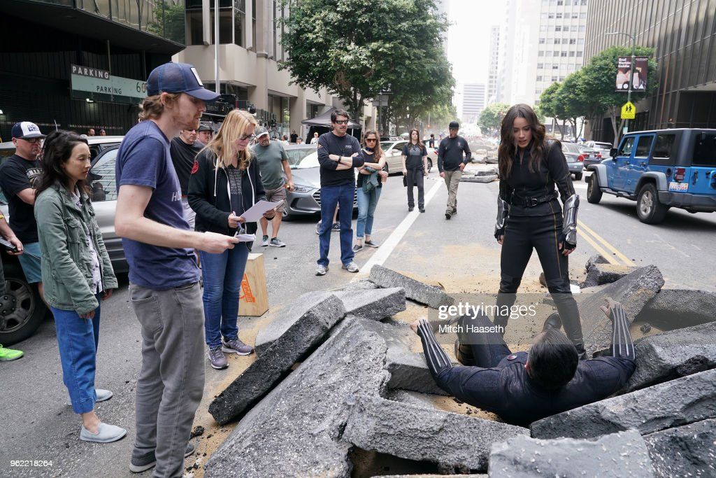 S AGENTS OF S.H.I.E.L.D. - 'The End' - Coulson's life or death is the challenge the team finds themselves in, as the wrong decision will cause the destruction of Earth, in the spectacular season finale of 'Marvel's Agents of S.H.I.E.L.D.,' FRIDAY, MAY 18 (9:01-10:01 p.m. EDT), on The ABC Television Network. MAURISSA TANCHAROEN (EXECUTIVE PRODUCER), JED WHEDON (EXECUTIVE PRODUCER), CHLOE
