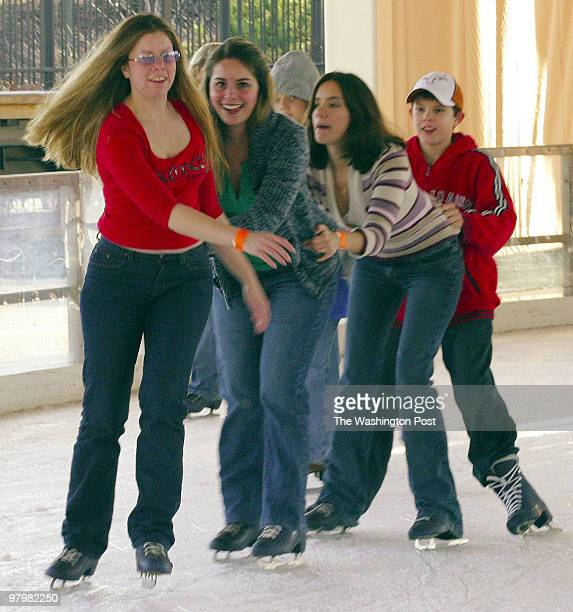 The end of year holidays attracted skaters of all ages to the Harris Pavilion in Manassas The venue which in the summer is the site of ice cream...