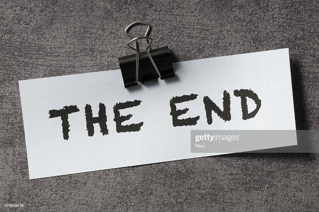 Image result for the end images