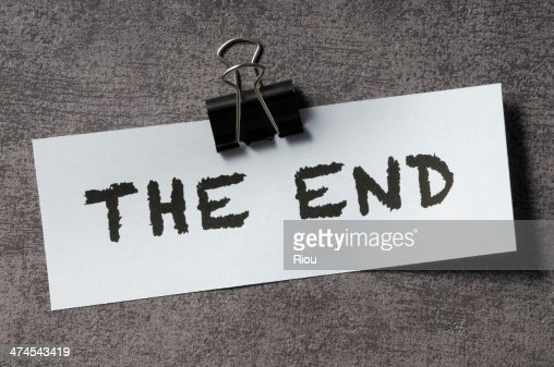 Image result for the end pics