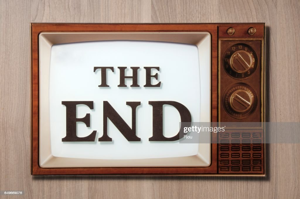 the end : Stock Photo