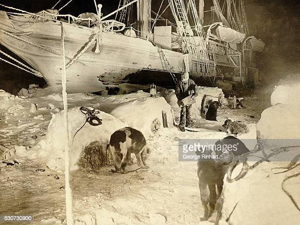The Endurance of Ernest Shackleton's Antarctic Expedition was eventually crushed by the ice in which the crew made a heroic twoyear journey across...