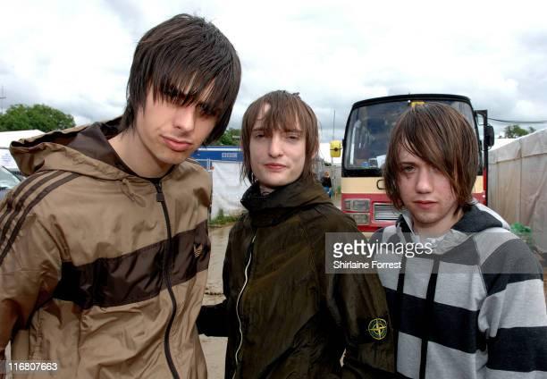 The Enemy during 2007 Glastonbury Festival - Day 3 at Worthy Farm in Pilton, Somerset.