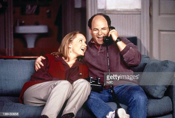 SEINFELD The Engagement Episode 1 Pictured Heidi Swedberg as Susan Biddle Ross Jason Alexander as George Costanza