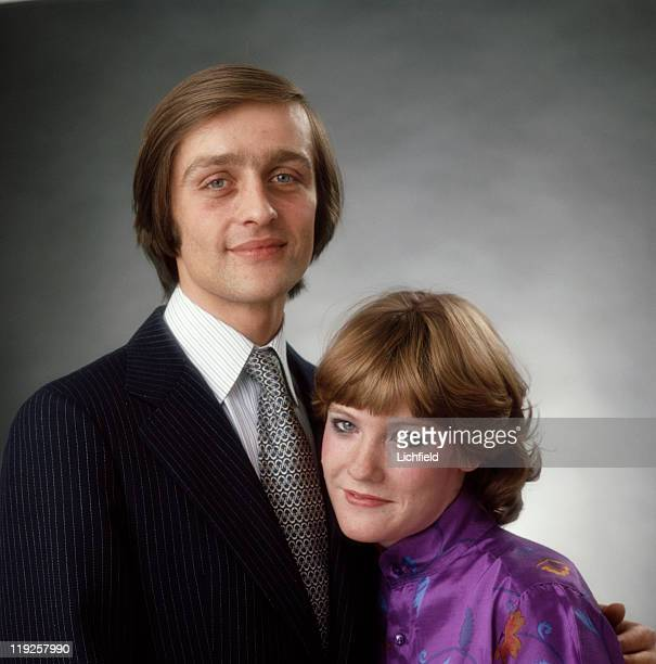 The engagement portrait of Earl Grosvenor and Natalia Phillips who became Duke and Duchess of Westminster 10th May 1978