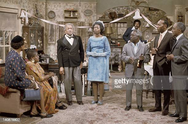 SON The Engagement/The Member of the Wedding Episode 9 Aired 11/9/73 Pictured Dorothy Meyer as Aunt Flossie Esther Sutherland as Aunt Minnie Redd...