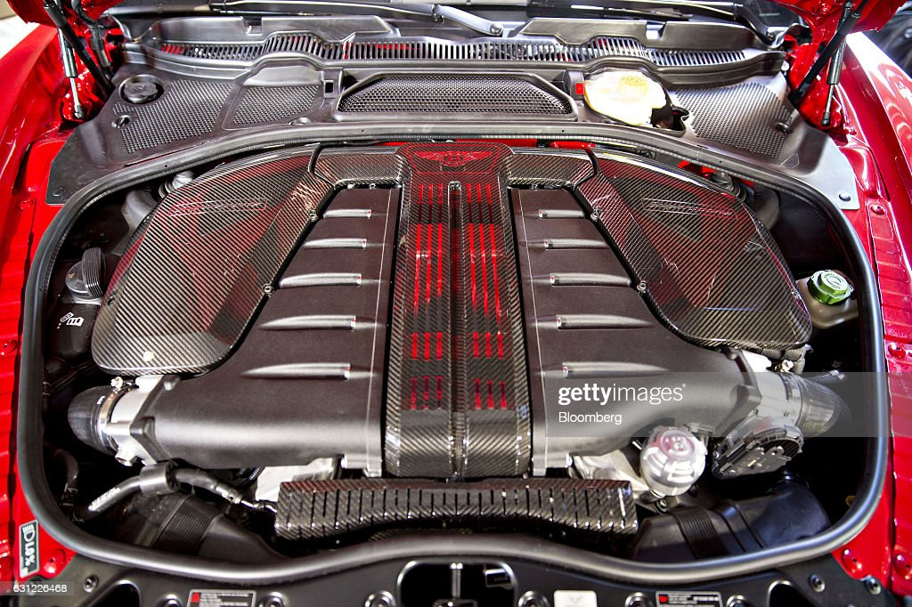 Bentley Motors Ltd. Event Ahead Of The 2017 North American International Auto Show (NAIAS) : News Photo