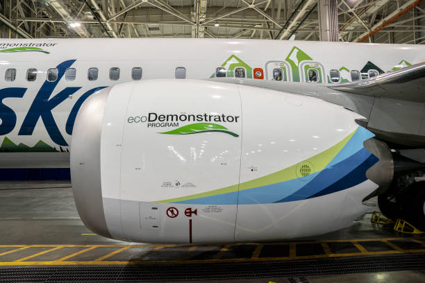 WA: Boeing Holds Media Tour Of EcoDemonstrator Program And 737 Max 9
