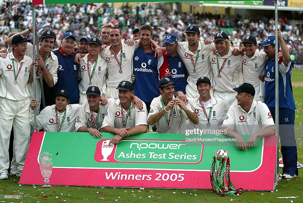England Win The Ashes : News Photo