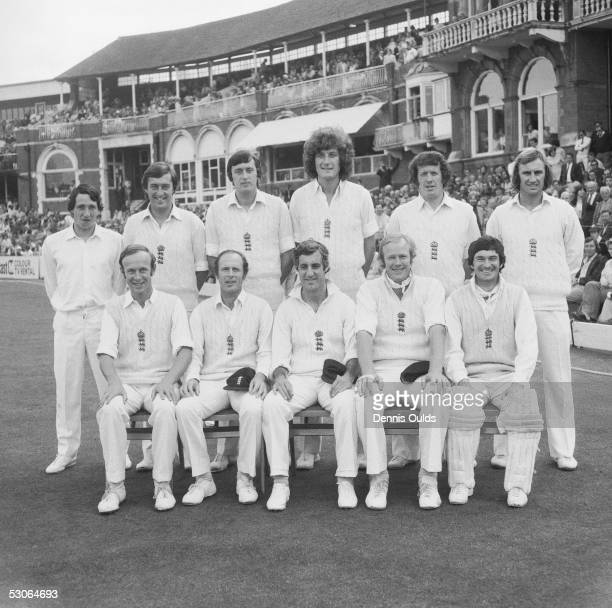 The England cricket team responsible for regaining the Ashes from Australia winning the series 30 Shown here is the team in the final drawn test at...