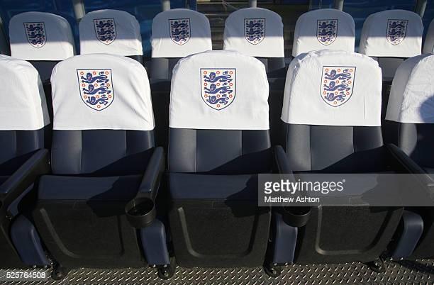 The England Football Association logo