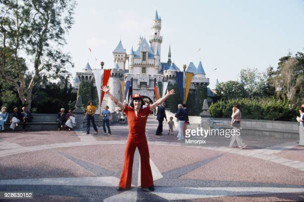 The England football team in the USA during the country's bicentennial year Kevin Keegan pictured at Disneyland in Anaheim California May 1976