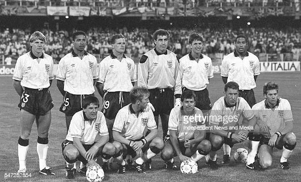 The England football team who played the Republic of Ireland in the World Cup Italia '90 The match took place in Stadio Sant'Elia in Cagliari The...