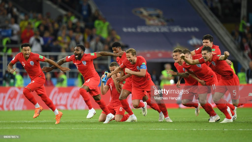 Colombia v England: Round of 16 - 2018 FIFA World Cup Russia : Nieuwsfoto's