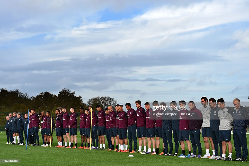 England Training Session & Press Conference : News Photo
