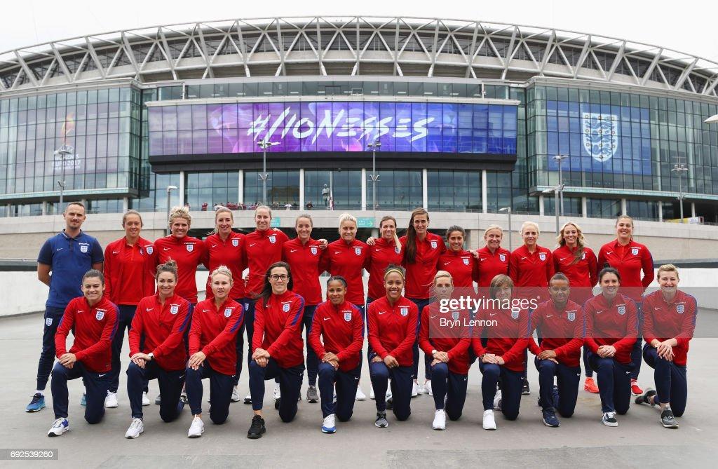 England Women Euro 2017 Media Day