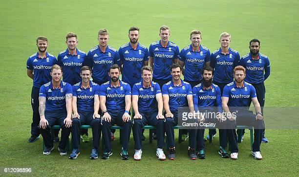 The England team at ShereBangla National Cricket Stadium on October 3 2016 in Dhaka Bangladesh