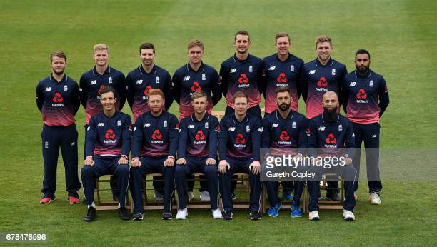 The England team at The Brightside Ground on May 4 2017 in Bristol England