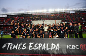santa fe argentina england team celebrate