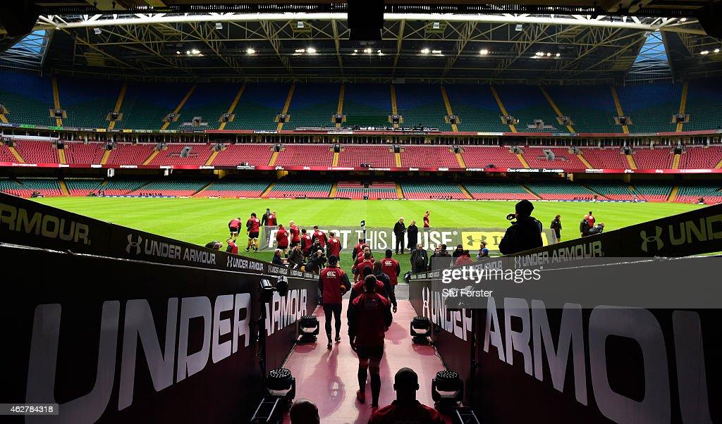 England Captain's Run : News Photo