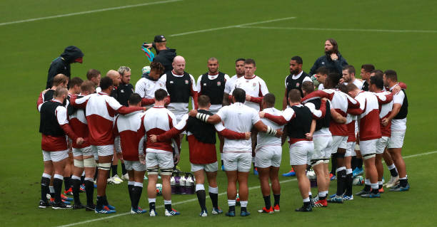 JPN: England Captain's Run & Press Conference