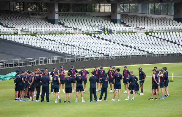 ZAF: South Africa & England Nets Session