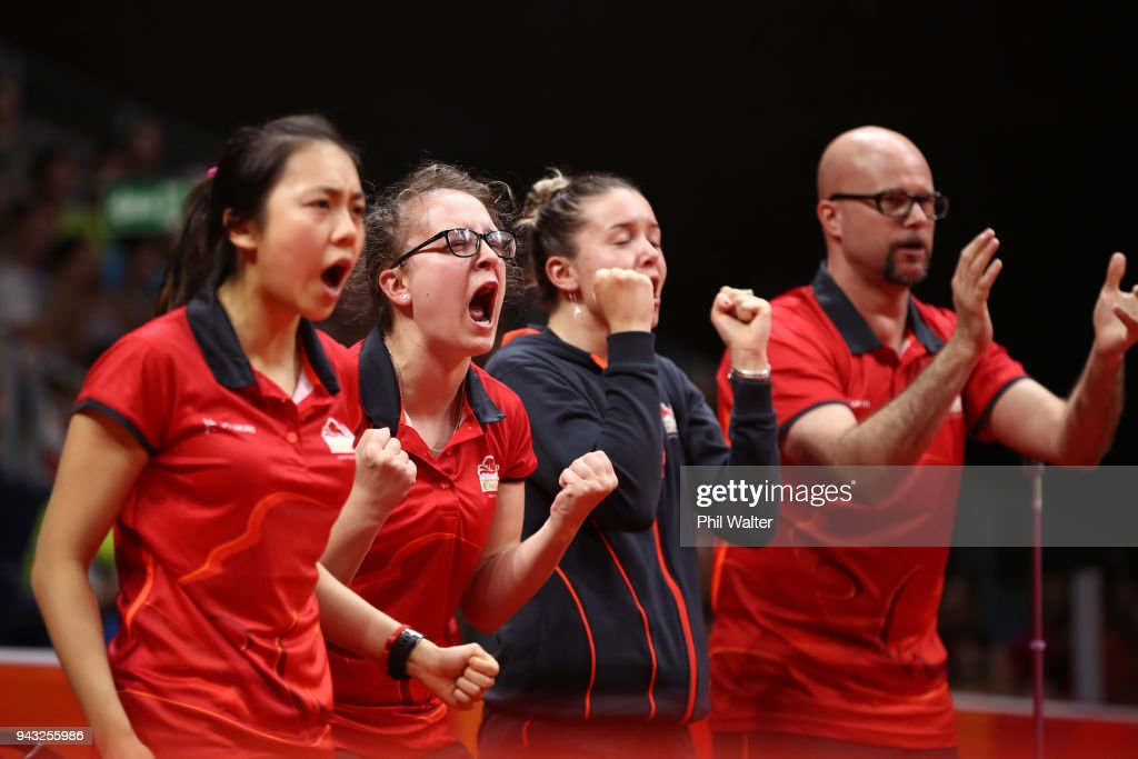 Table Tennis - Commonwealth Games Day 4 : News Photo