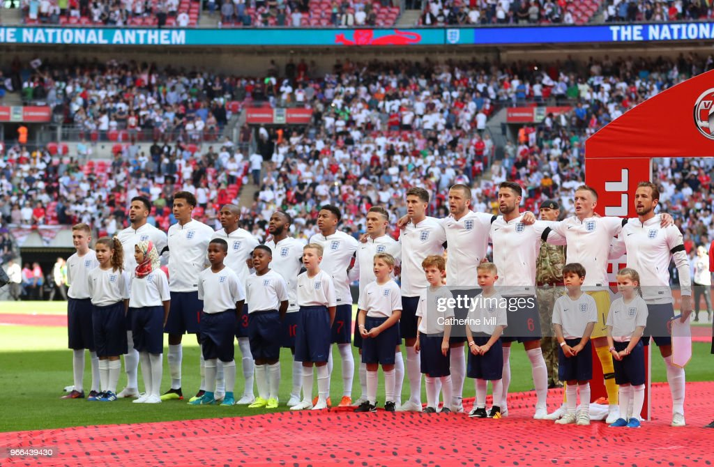 England v Nigeria - International Friendly : News Photo
