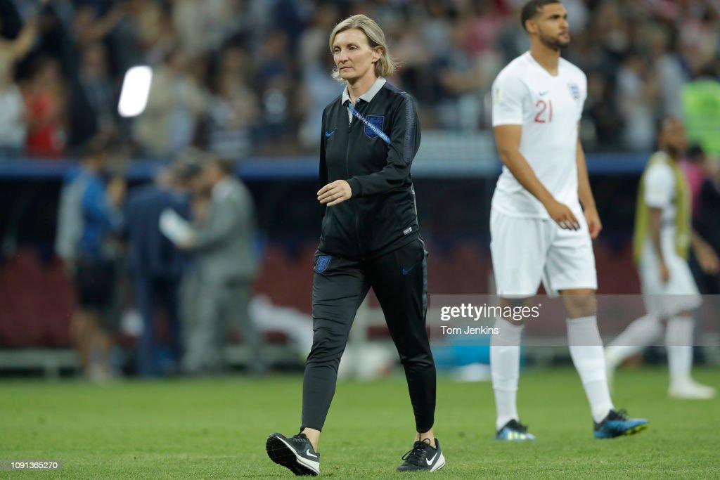 England v Croatia FIFA World Cup 2018 : News Photo