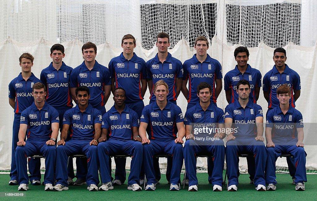 England U19 Portraits and Training Session : News Photo