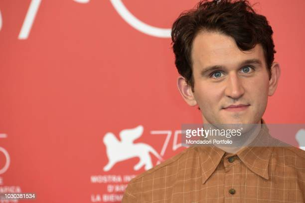The English Actor Harry Melling attends The Ballad of buster scruggs movie photocall at 75th Venice Film Festival. Venice, August 31th, 2018