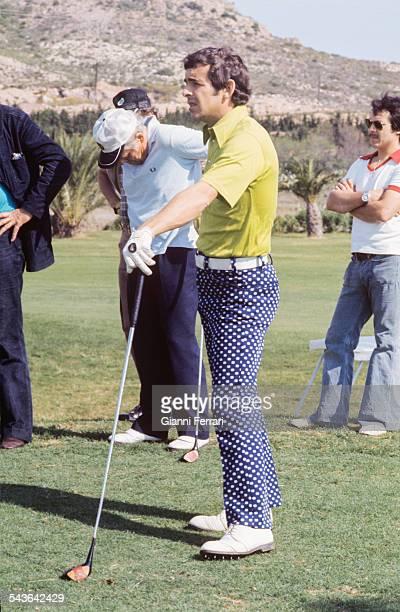 The English golfer Tony Jacklin Madrid, Spain. .