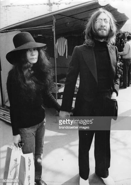 The English musician John Lennon Photograph