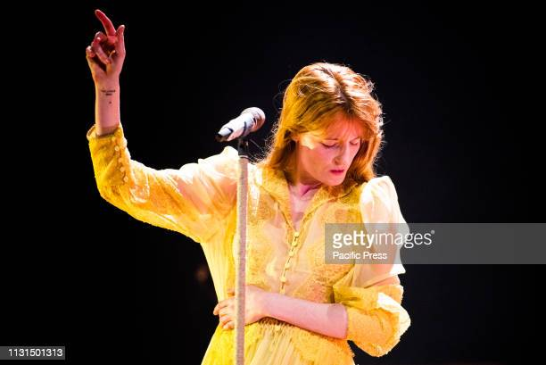 The English musician, singer, songwriter, and producer Florence Leontine Mary Welch, better know simply as Florence Welch or Florence and the...