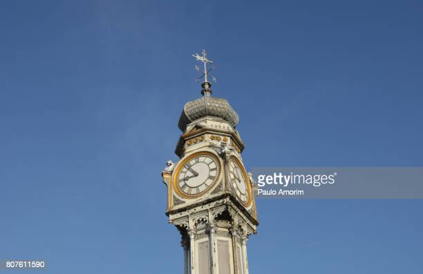 The English old iron clock in Belém,Brazil