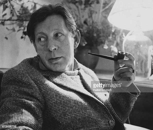 The English poet and author Laurie Lee He was born in Slad in Gloucestershire an area which he immortalised in his writing His works include The Sun...