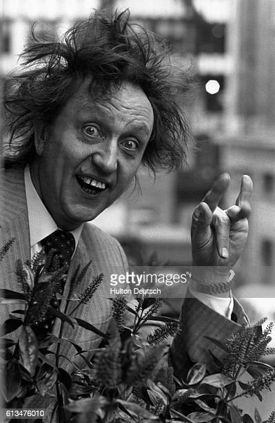 The English standup comedian singer and actor Ken Dodd 1980
