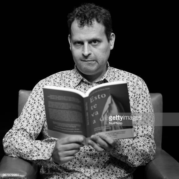 The English Writer Adam Kay Poses During Presentation Of Book Esto Te Va Doler