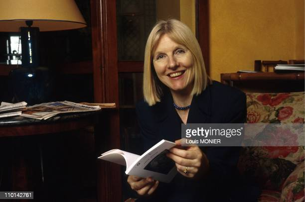 The english writer Helen Dunmore in France on January 07 1998