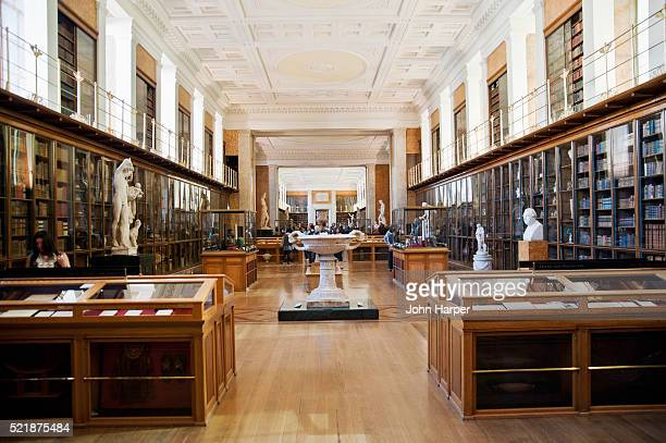 the enlightenment room of the british museum, london - museum stock pictures, royalty-free photos & images