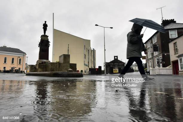 The Enniskillen war memorial cenotaph pictured on February 26 2017 in Enniskillen Northern Ireland The Remembrance Day bombing took place on 8...