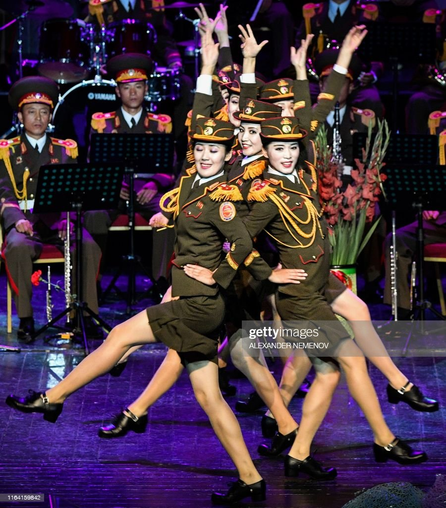 Russia-music-festival-RUSSIA-NKOREA-MILITARY-MUSIC-FESTIVAL : News Photo