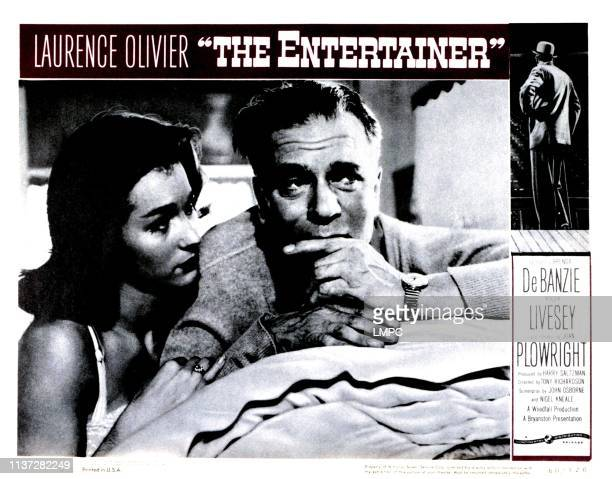 The Entertainer lobbycard from left Shirley Anne Field Laurence Olivier 1960