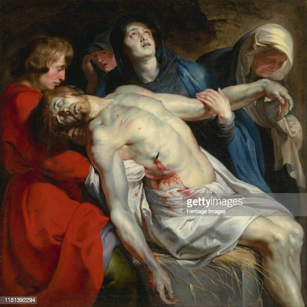 The Entombment of Christ c 1612 Found in the collection of the J Paul Getty Museum Los Angeles Artist Rubens Pieter Paul