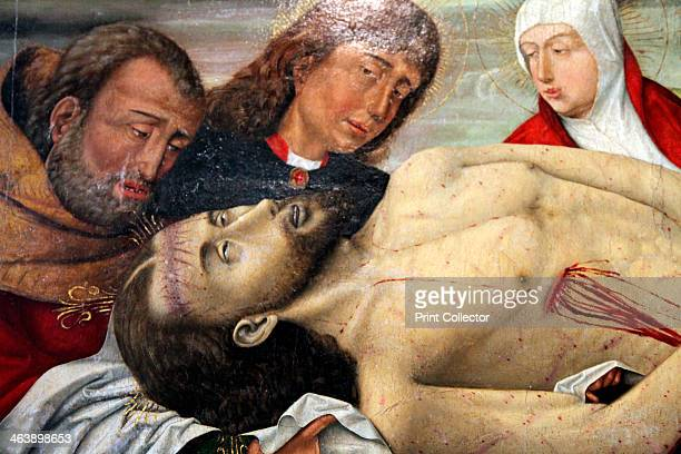 'The Entombment of Christ' c1490c1500 Detail Found in the collection of The Hermitage St Petersburg