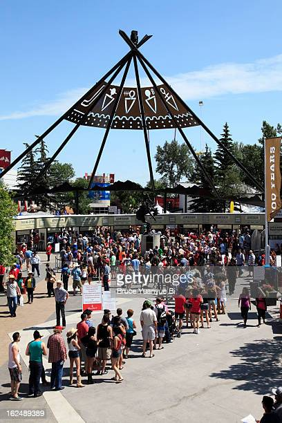 The entrance of Stampede Park