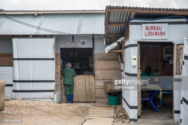 The entrance of the Ebola treatment centre in Beni eastern Democratic Republic of the Congo The DRC is currently experiencing the second worst Ebola...