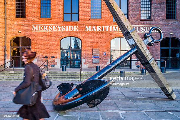The entrance of the Merseyside Maritime Museum