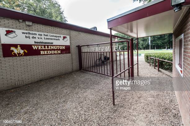 the entrance of vv Loenermark during the Friendly match between Fortuna Sittard and Goztepe SK at sportpark Loenermark on July 22 2018 in Loenen The...