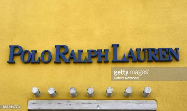 The entrance to a Polo Ralph Lauren Factory Store in Santa Fe, New Mexico, in February 2017. The Ralph Lauren Corporation is headquartered in New...